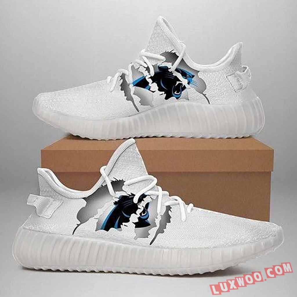 Carolina Panthers Yeezy Shoes Best Gift For Friends