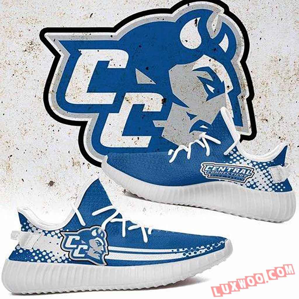 Central Connecticut Blue Devils Ncaa Sport Teams Yeezy Boost 350 V2