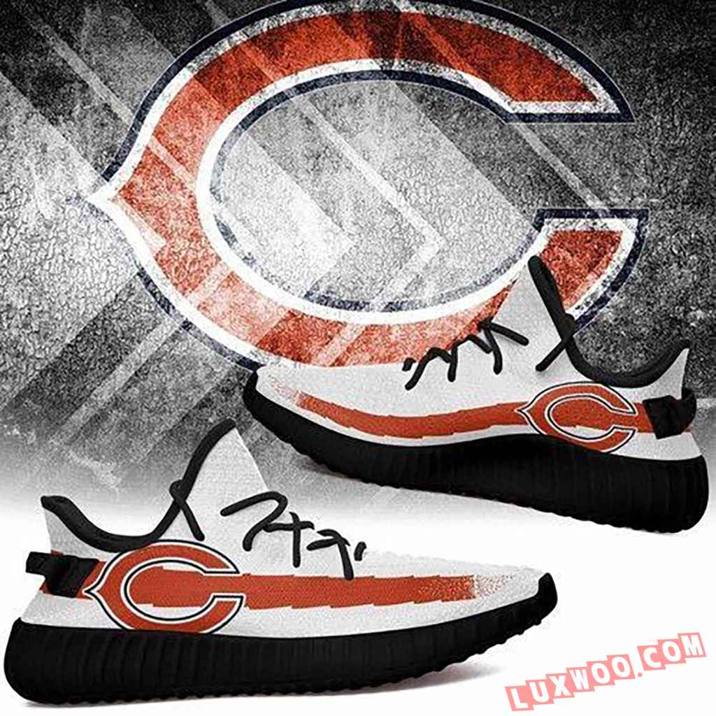 Chicago Bears Nfl Like Yeezy Boost Shoes Christmas
