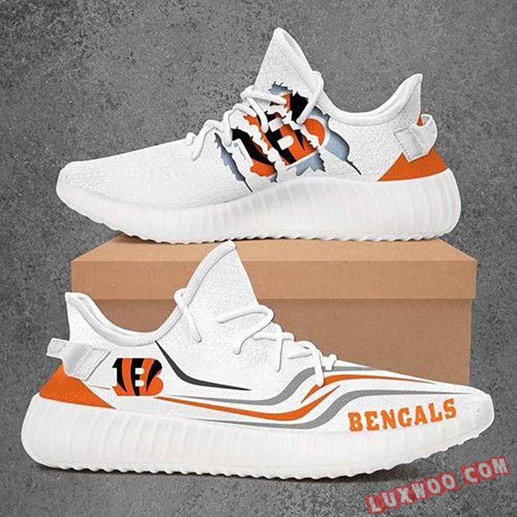 Cincinnati Bengals Nfl Yeezy Boost 350 V2