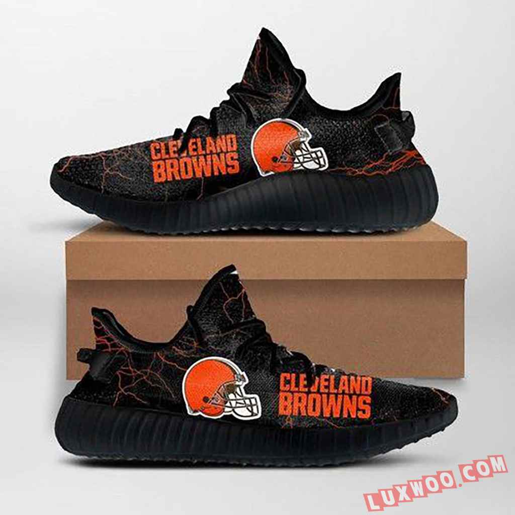 Cleveland Browns Nfl Custom Yeezy Shoes