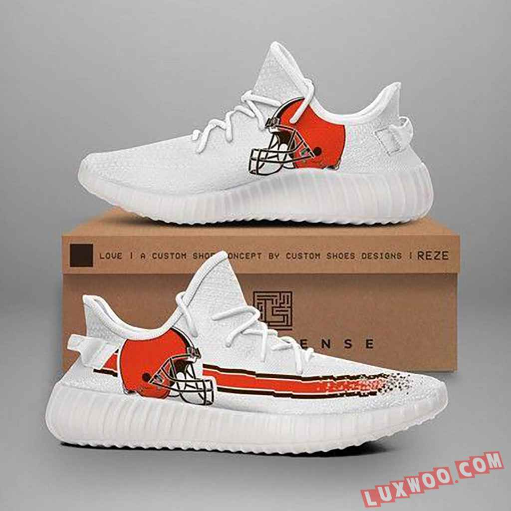 Cleveland Browns Nfl Teams Yeezy Boost 350 V2