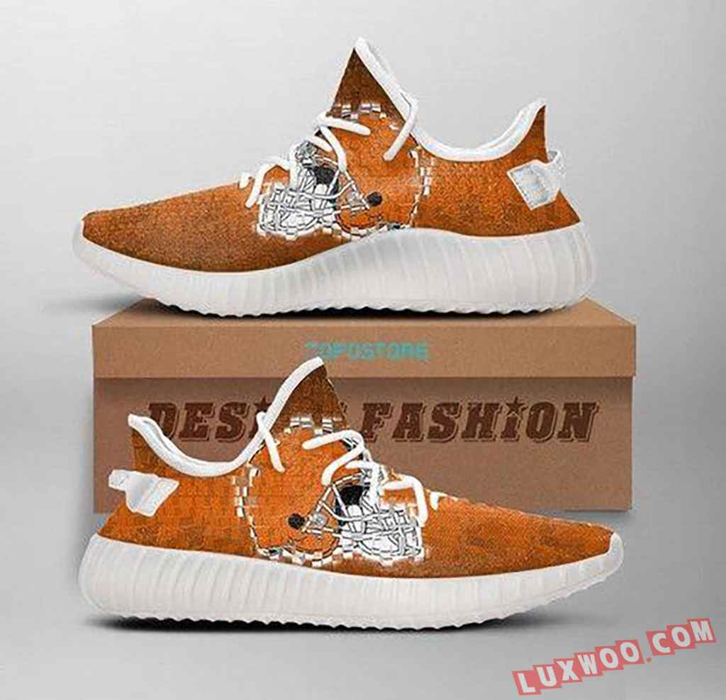 Cleveland Browns Yeezy Shoe