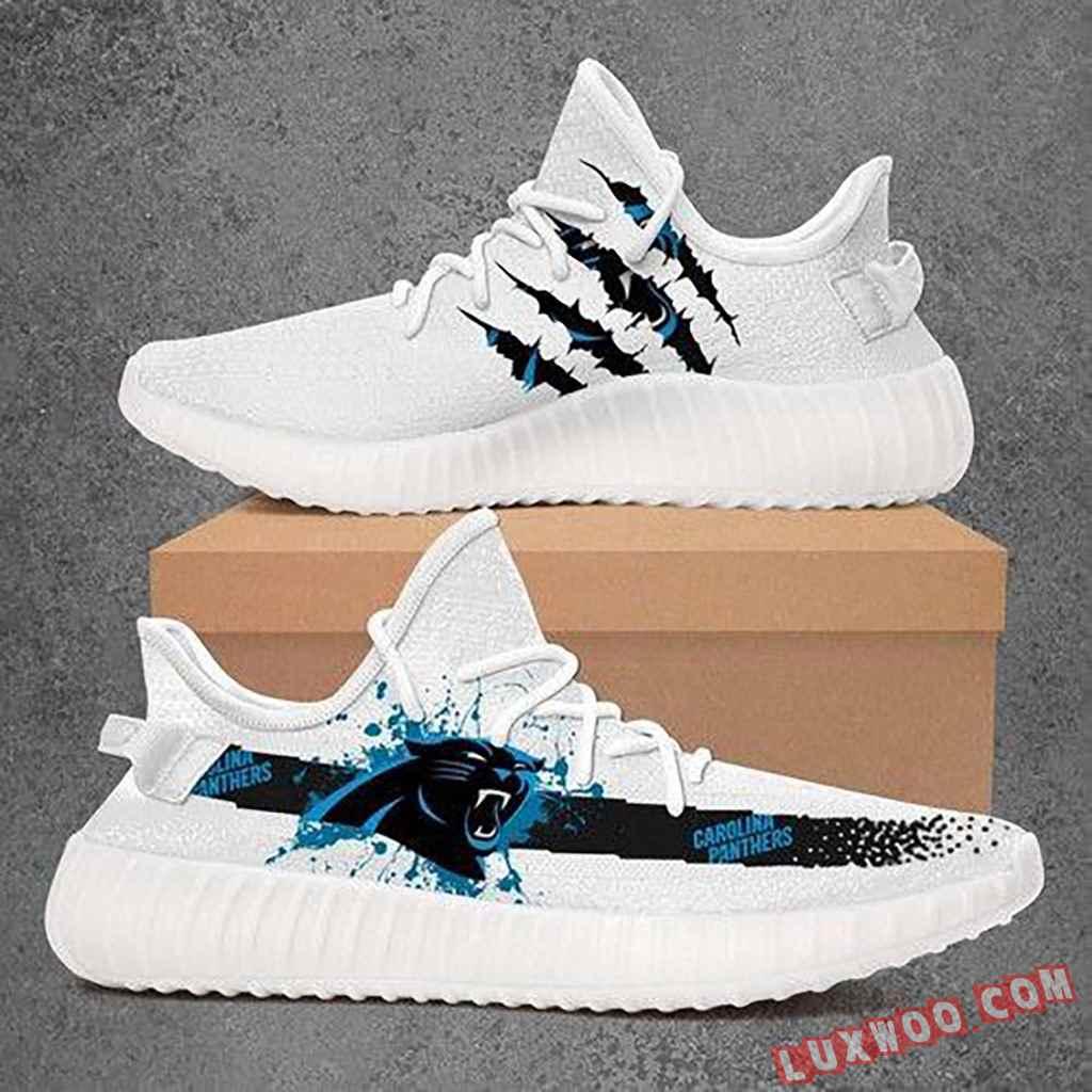 Custom Shoes Yeezy Carolina Panthers