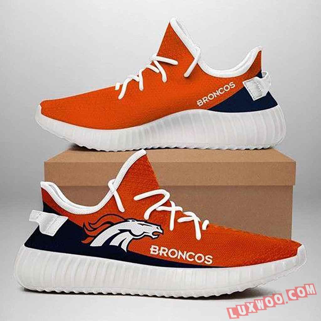 Custom Shoes Yeezy Denver Broncos