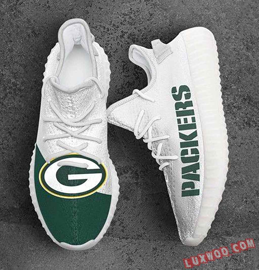 Custom Shoes Yeezy Green Bay Packers