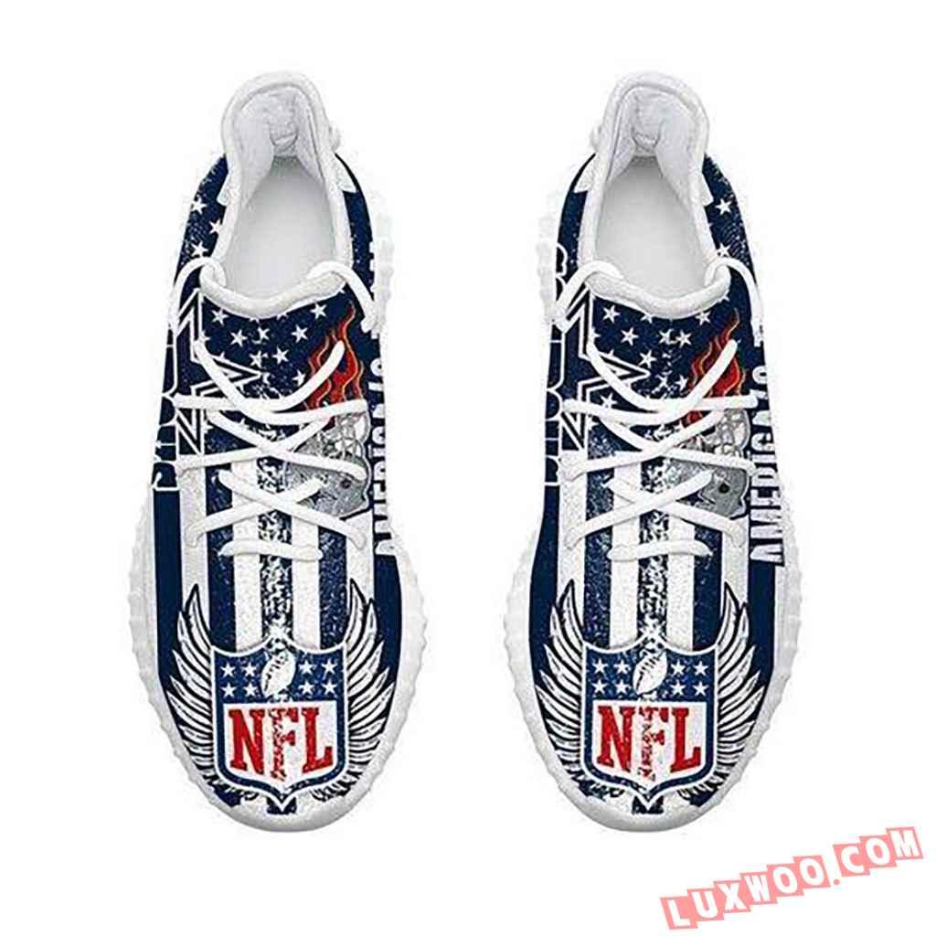 Dallas Cowboys Americas Team Nfl Like Yeezy Cowboys Shoes