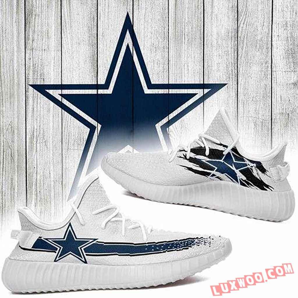 Dallas Cowboys Nfl Yeezy Boost 350 V2 Shoess