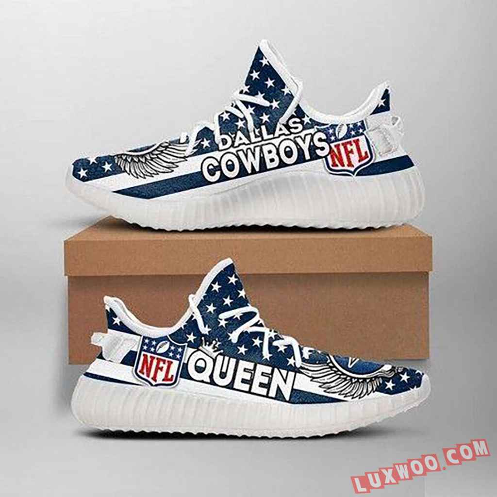 Dallas Cowboys Queen Nfl Like Yeezy Cowboys Shoes