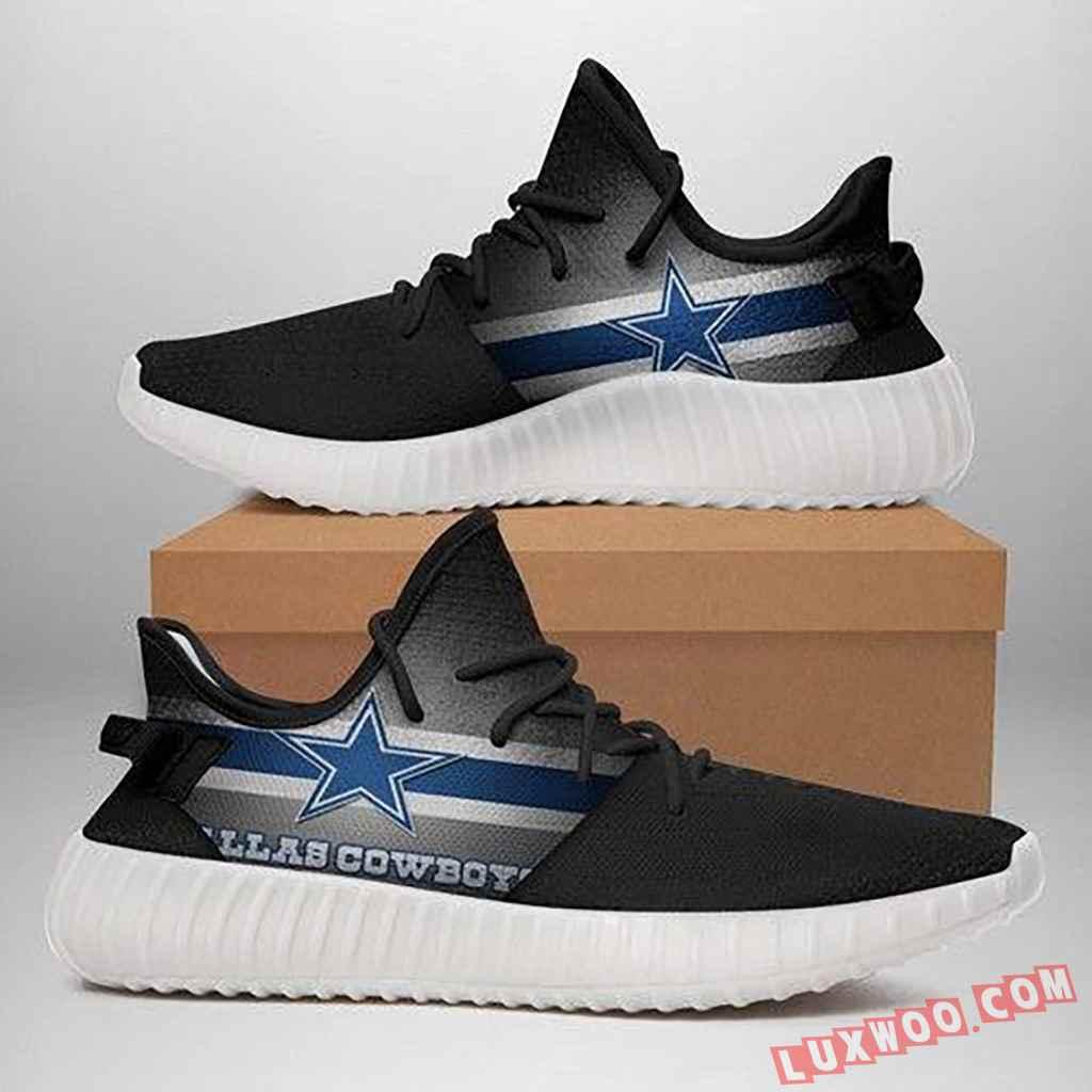 Dallas Cowboys Yeezy Custom Print Sneaker