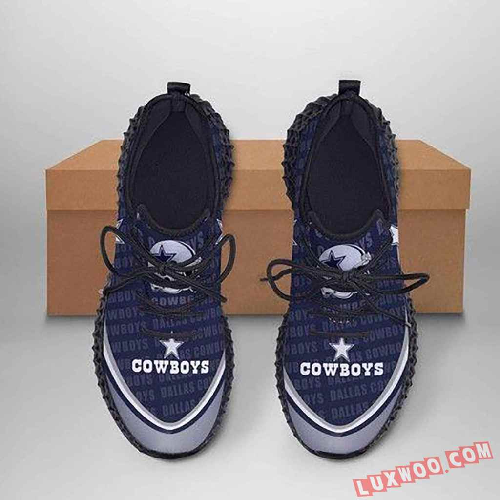 Dallas Cowboys Yeezy Sneakers Best Gift For Friends