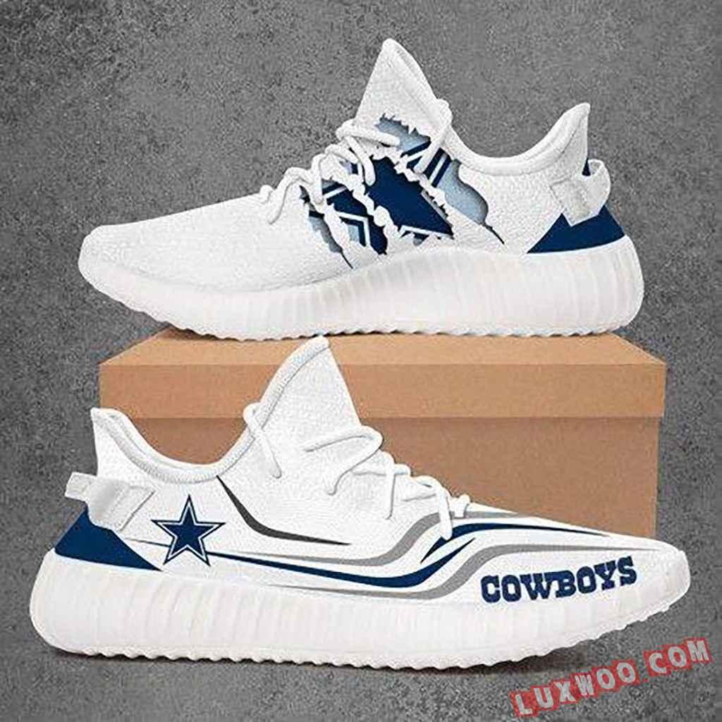 Dallas Cowboys Yeezy Sneakers V2