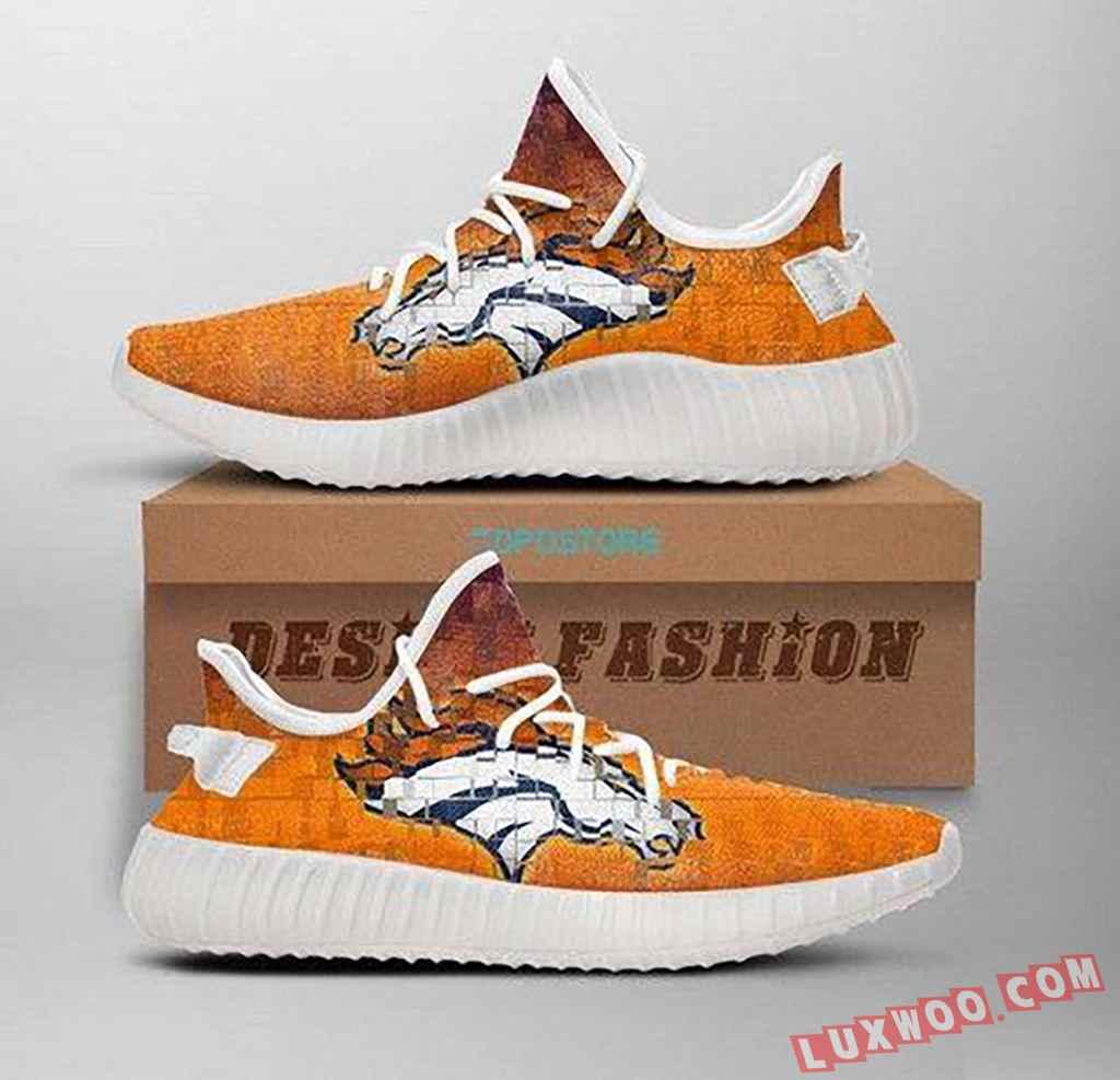Denver Broncos Yeezy Shoe