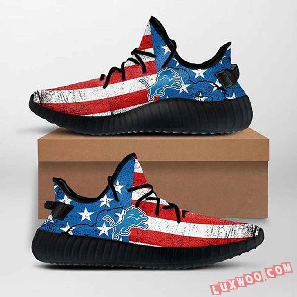 Detroit Lions Nfl Custom Yeezy Shoes For Fans Ffs7013