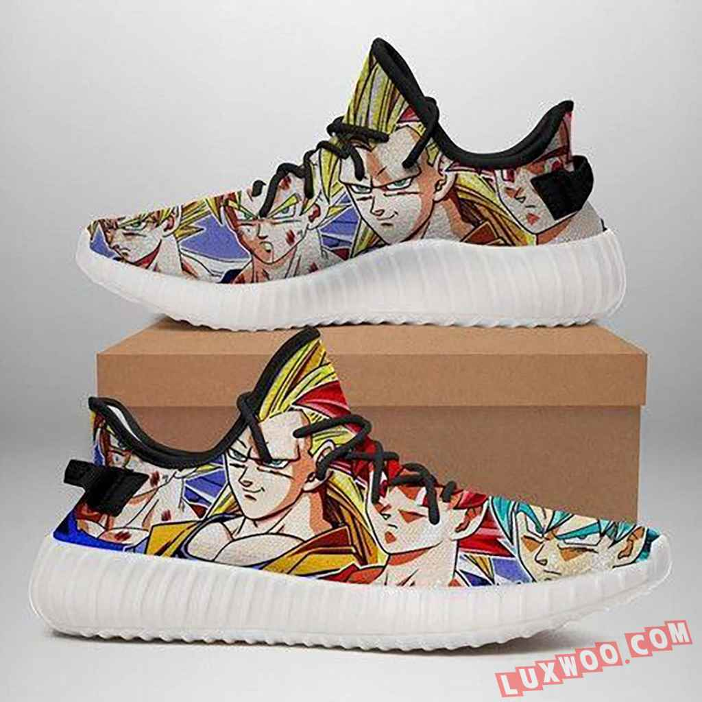 Dragon Ball Shoes Yeezy Boost 350 V2 Shoes