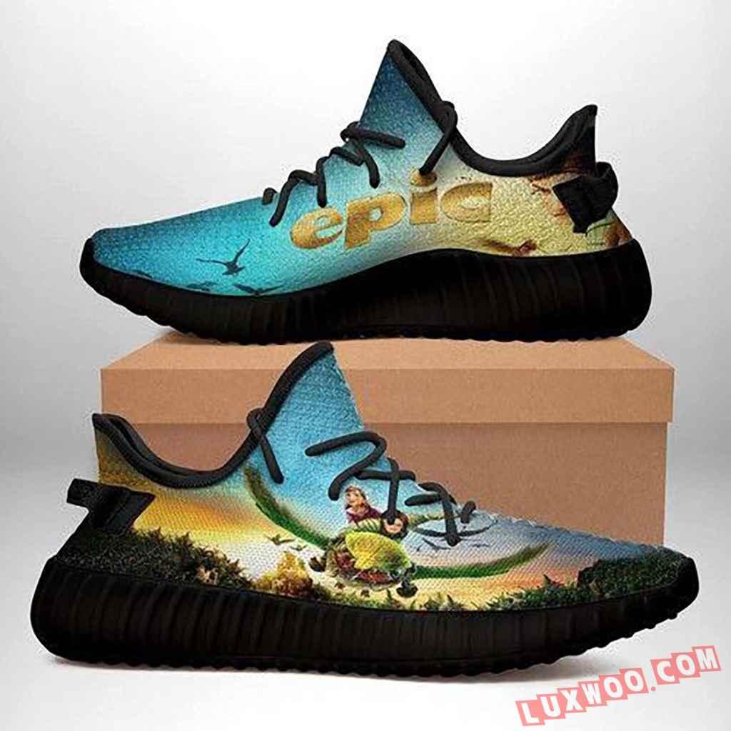 Epic Black Yeezy Sneakers