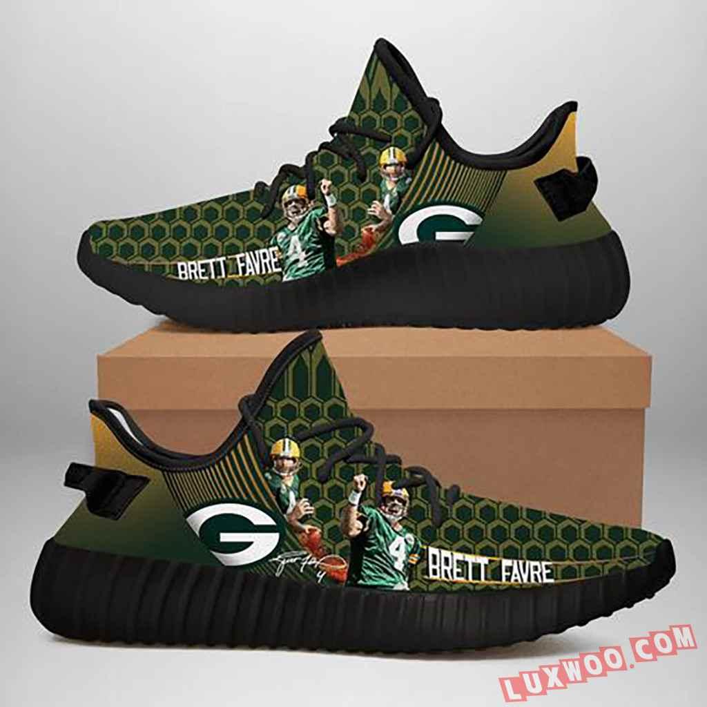 Green Bay Packers Nfl Brett Favre Yeezy Sneaker Baseball