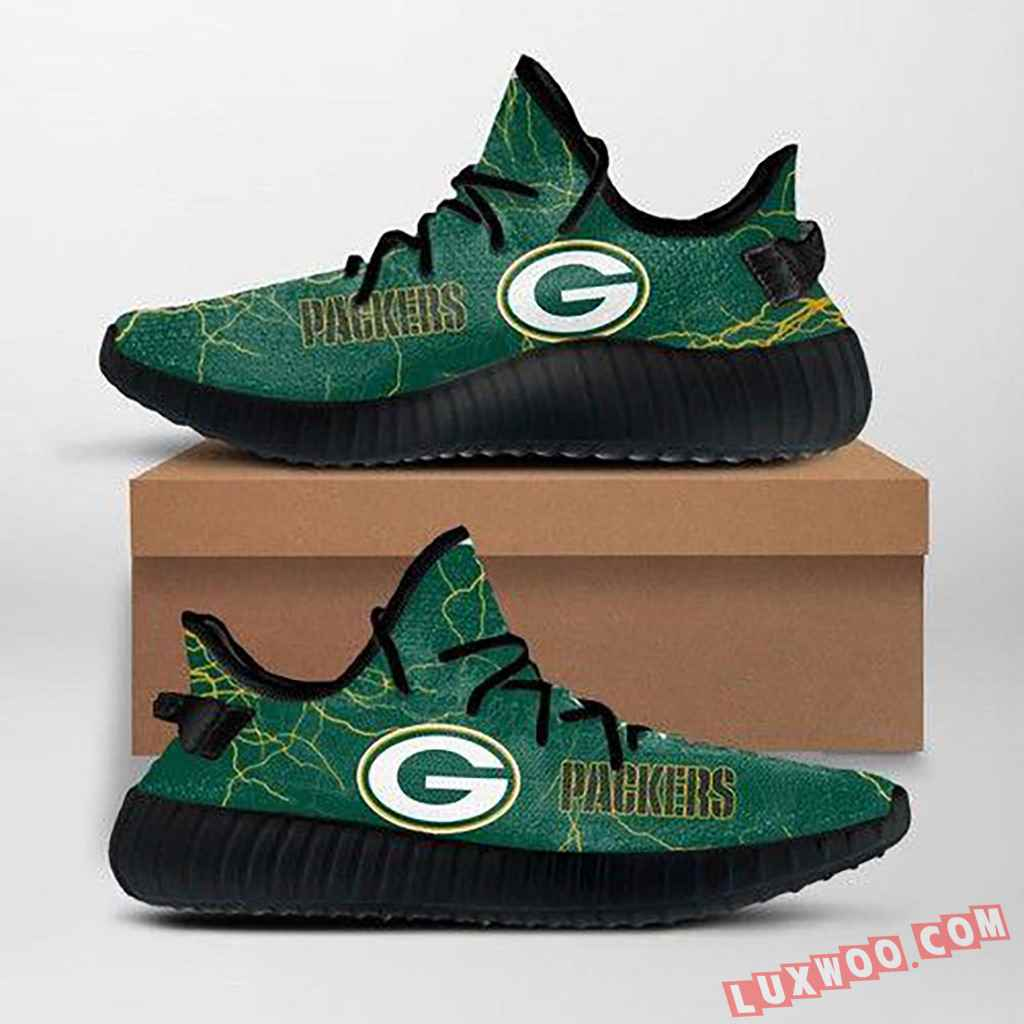 Green Bay Packers Nfl Custom Yeezy Shoes For Fans Ffs7013