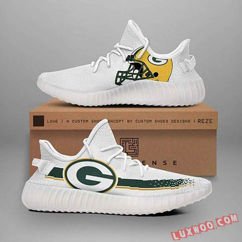 Green Bay Packers Nfl Teams Yeezy Boost 350 V2