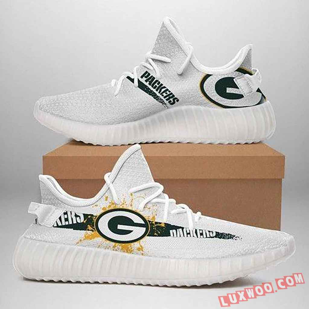 Green Bay Packers Nfl Yeezy Boost 350 V2 Top