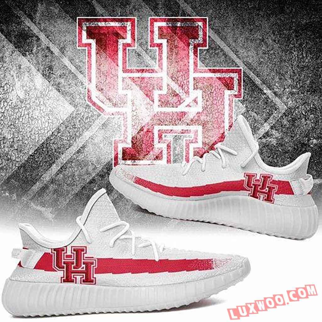 Houston Cougars Ncaa Like Yeezy Boost Shoes Adidas Yeezy Sneakers