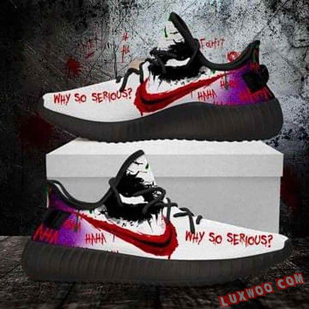 Joker Horror Hahaha Why So Serious Shoes Yeezy Sneaker