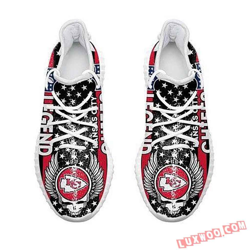 Kansas City Chiefs Legend Nfl Like Yeezy Chiefs Shoes