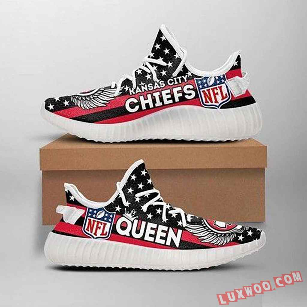 Kansas City Chiefs Queen Nfl Like Yeezy Chiefs Shoes