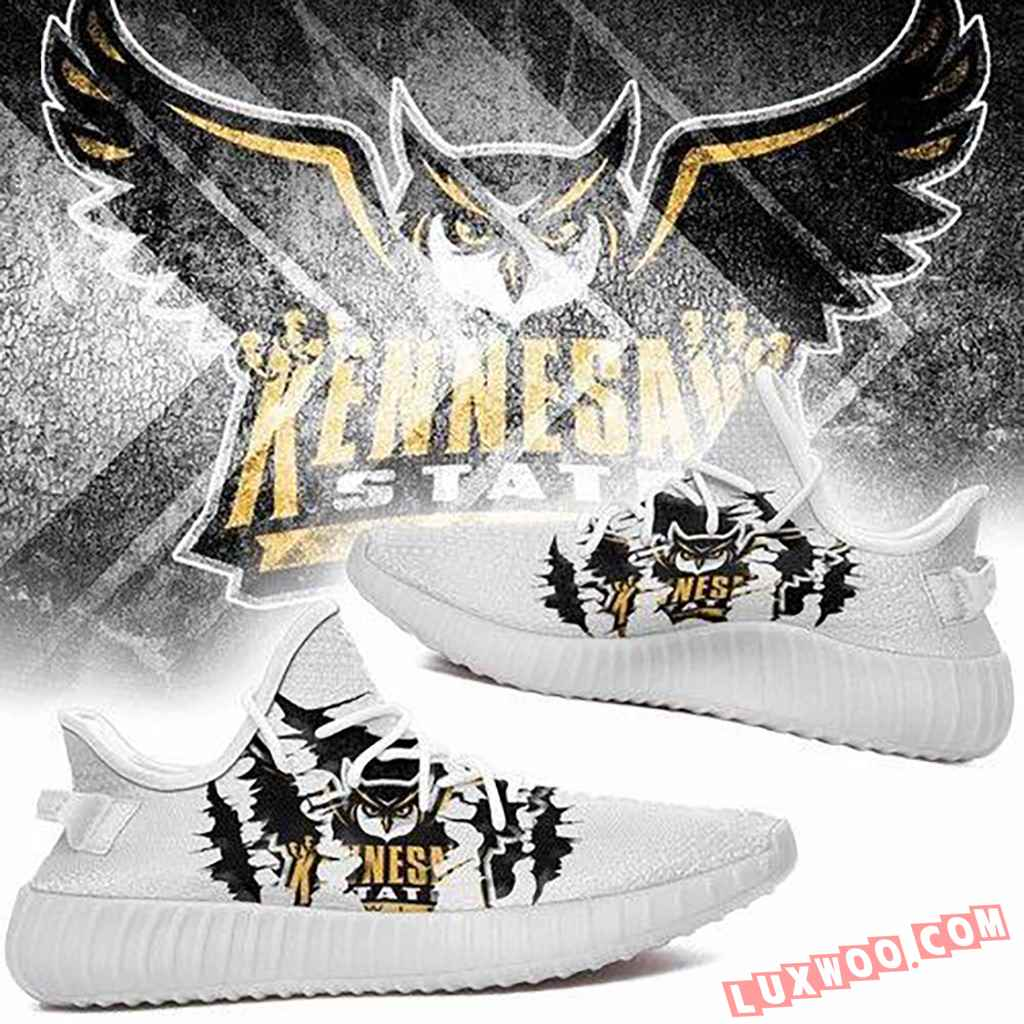 Kennesaw State Owls Ncaa Sport Teams Yeezy Boost 350 V2