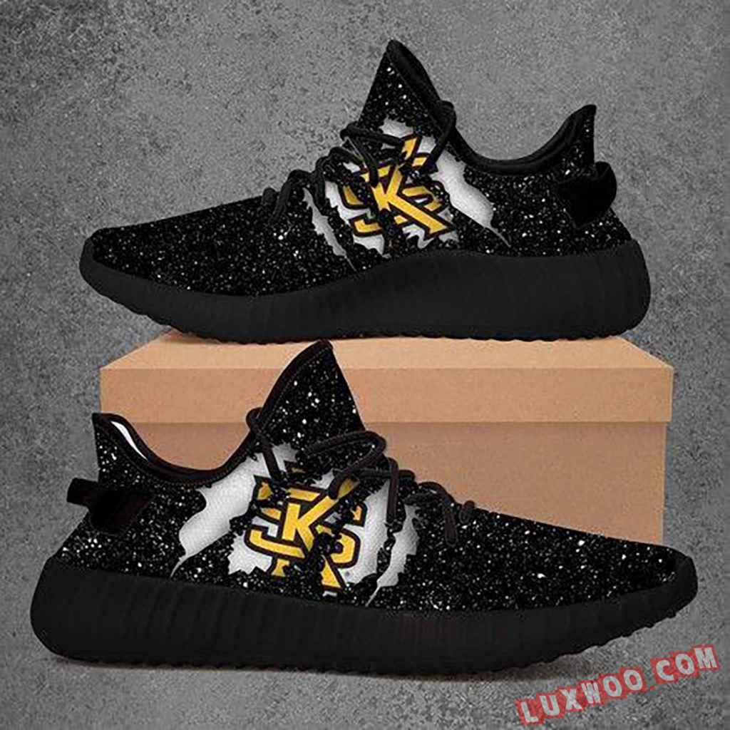 Kennesaw State Owls Ncaa Yeezy Boost 350 V2 Shoes Sport Teams