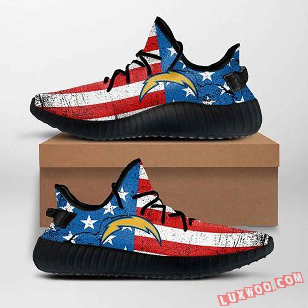 Los Angeles Chargers Nfl Custom Yeezy Shoes For Fans Ffs7019