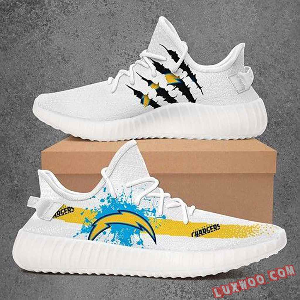 Los Angeles Chargers Nfl Sport Teams Yeezy Boost 350 V2