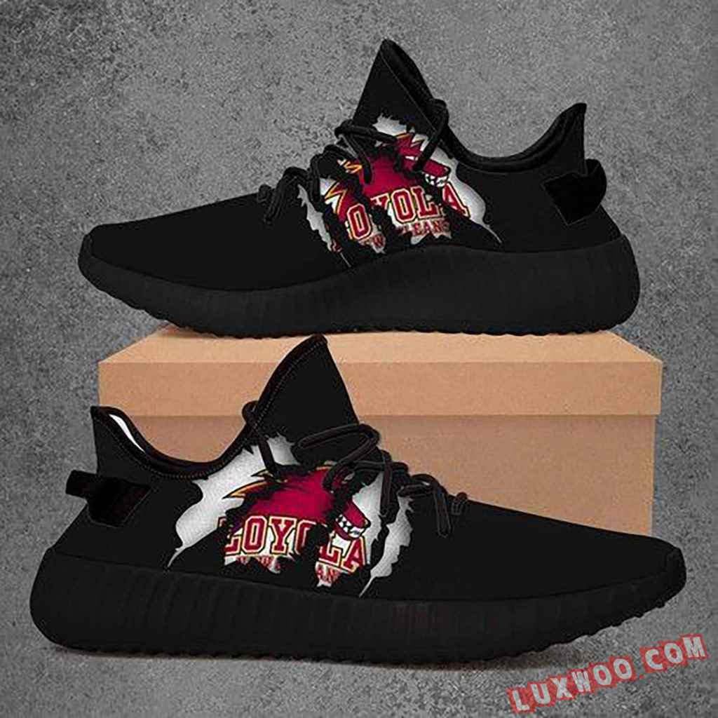 Loyola New Orleans Wolfpack Ncaa Yeezy Boost 350 V2