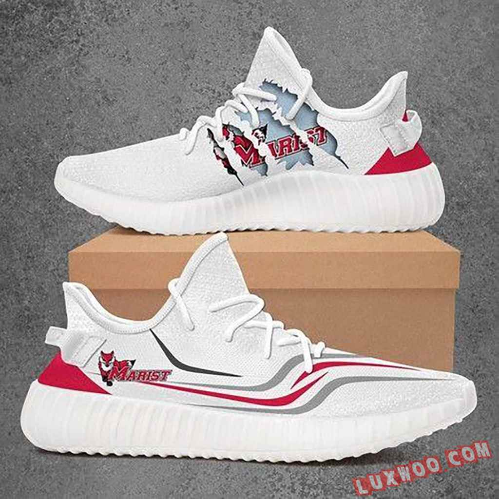 Marist Red Foxes Ncaa Yeezy Boost 350 V2 Top