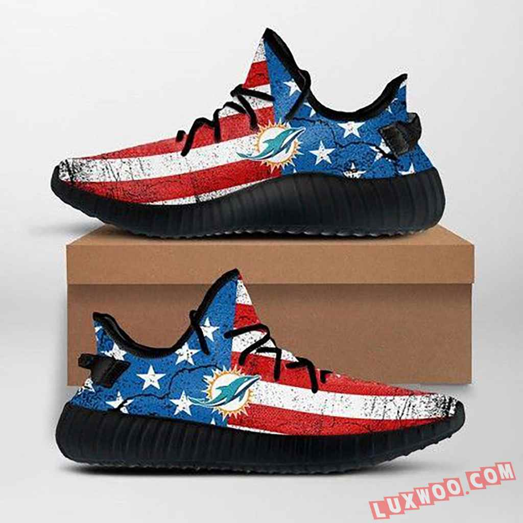 Miami Dolphins Nfl Custom Yeezy Shoes For Fans Ffs7021