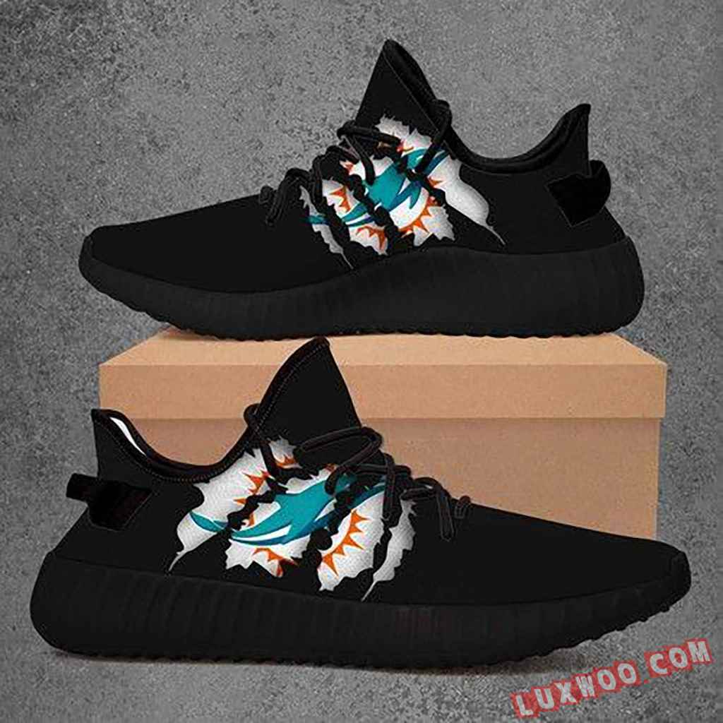 Miami Dolphins Nfl Yeezy Boost 350 V2 Shoes Sport Teams