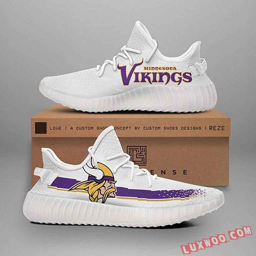 Minnesota Vikings Nfl Teams Yeezy Boost 350 V2