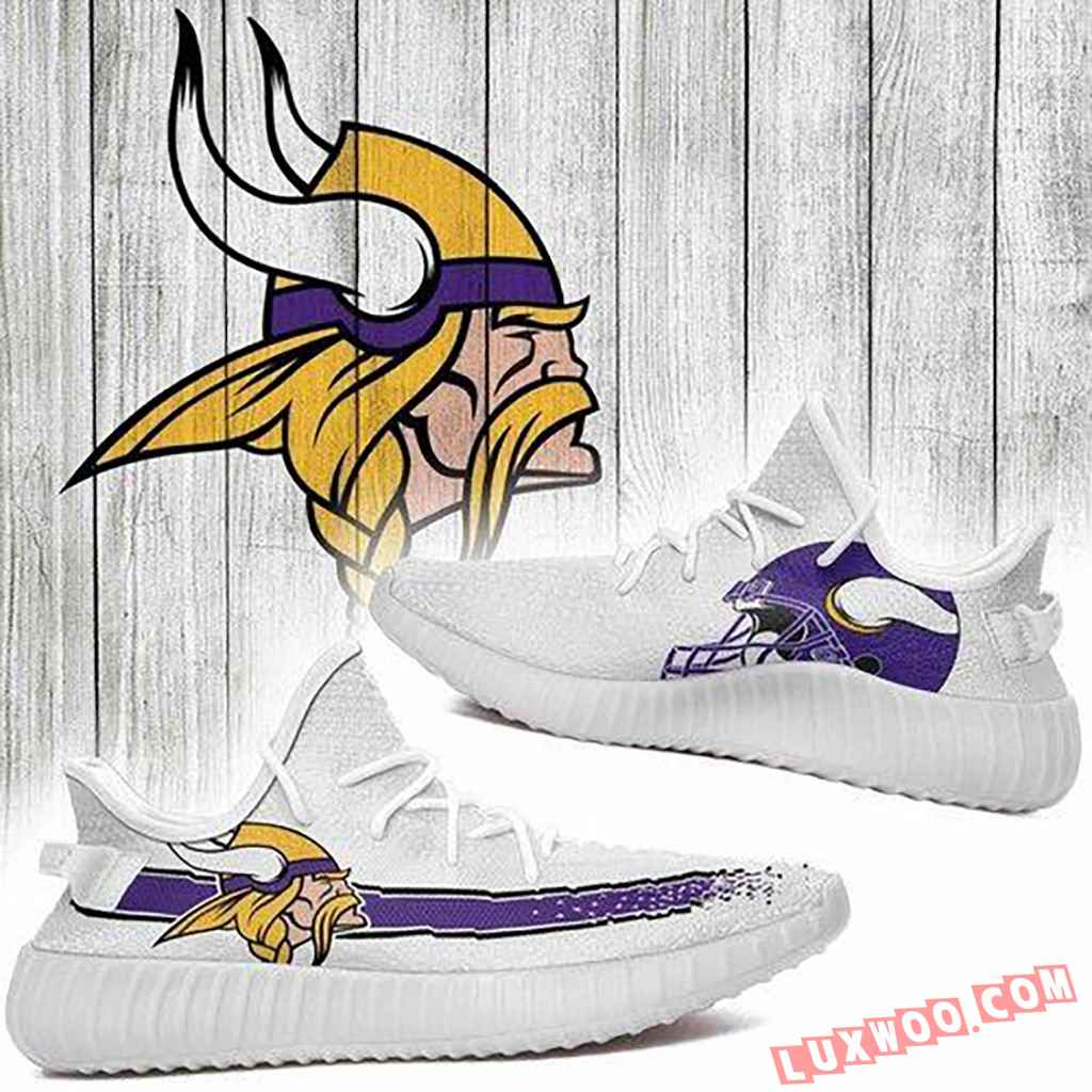 Minnesota Vikings Nfl Yeezy Boost 350 V2 Shoes
