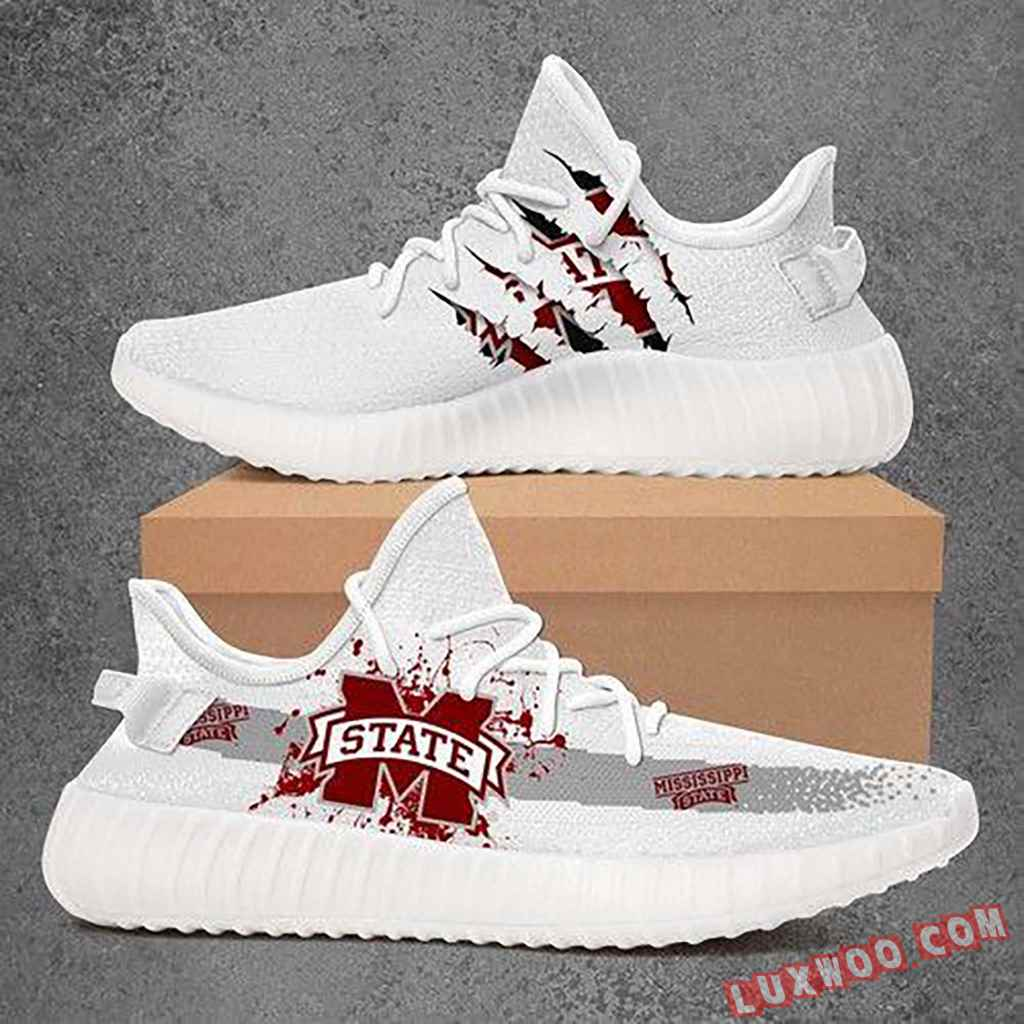 Mississippi State Bulldogs Ncaa Sport Teams Yeezy Boost 350 V2
