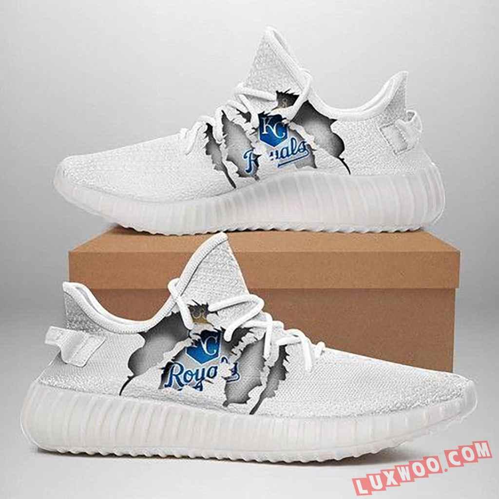 Mlb 12 Kansas City Royals Yeezy Sneaker Gift For Fans