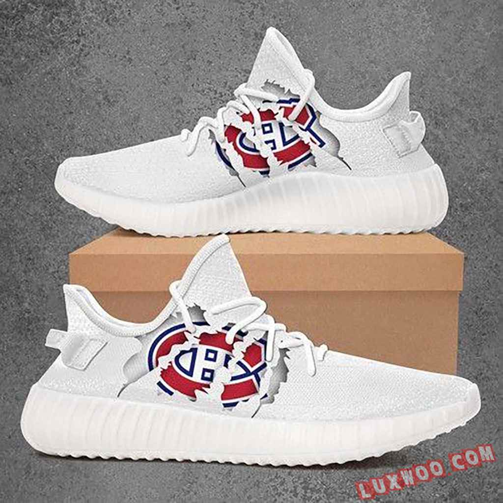 Montreal Canadiens Nhl Sport Teams Yeezy Boost 350 V2