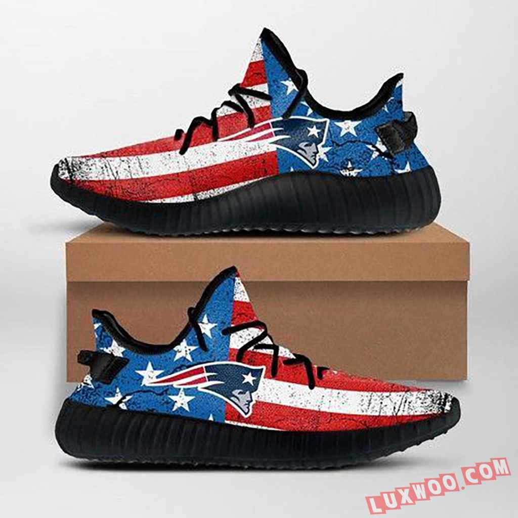 New England Patriots Nfl Custom Yeezy Shoes For Fans Ffs7023