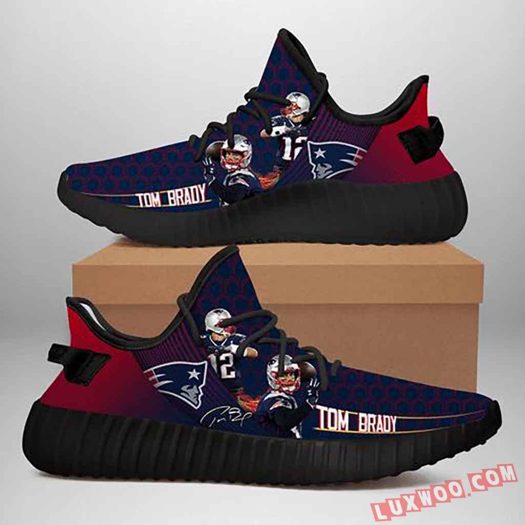 New England Patriots Nfl Tom Brady Yeezy Sneaker