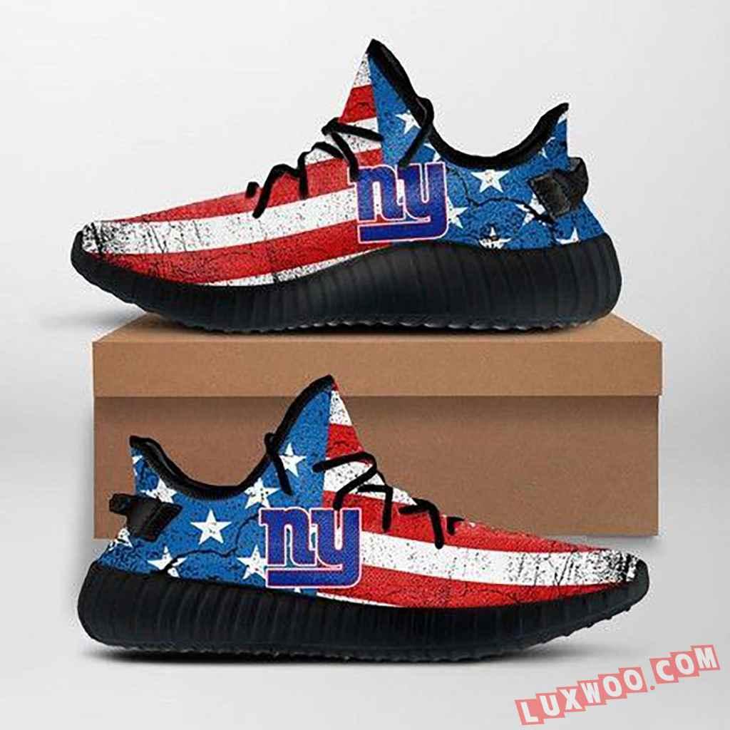 New York Giants Nfl Custom Yeezy Shoes For Fans Ffs7025