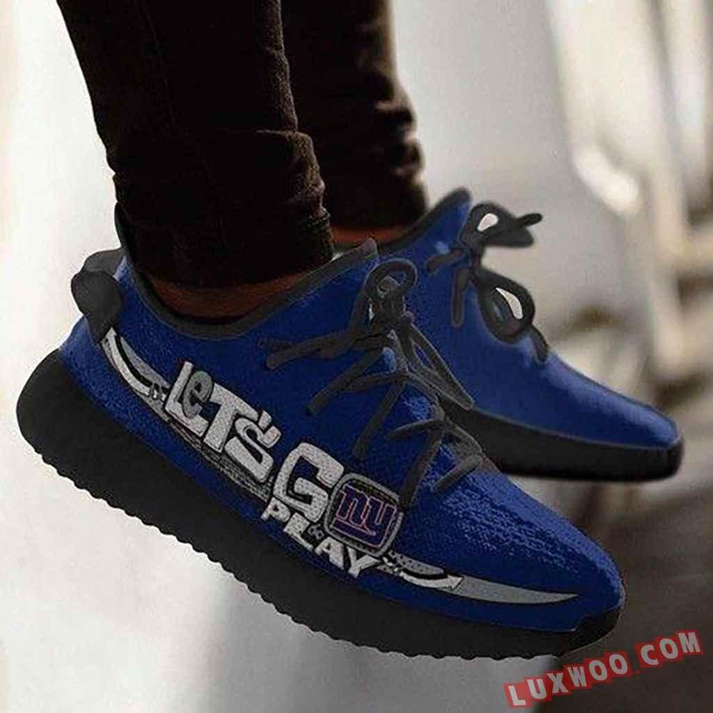 New York Giants Nfl Yeezy Boost 350 V2 Shoes Adidas Yeezy Sneakers