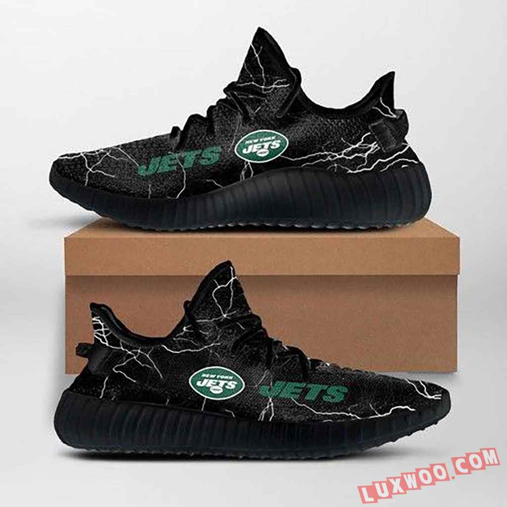 New York Jets Nfl Custom Yeezy Shoes For Fans Ffs7025