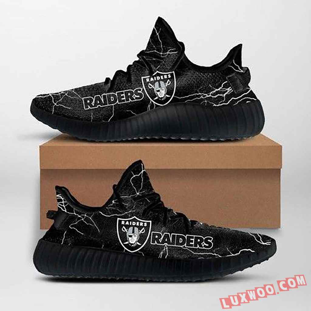 Oakland Raiders Nfl Custom Yeezy Shoes For Fans Ffs7026