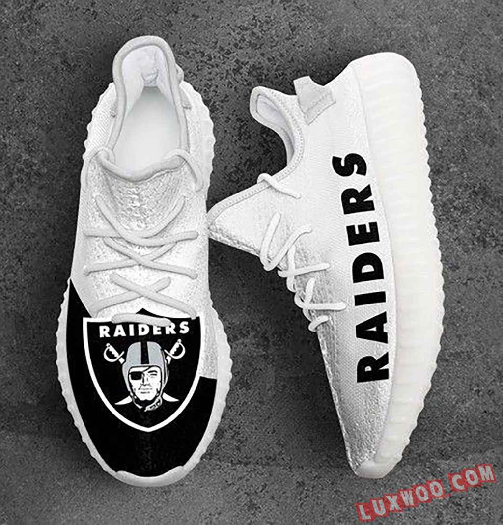 Oakland Raiders Nfl Sport Teams Yeezy Boost 350 V2
