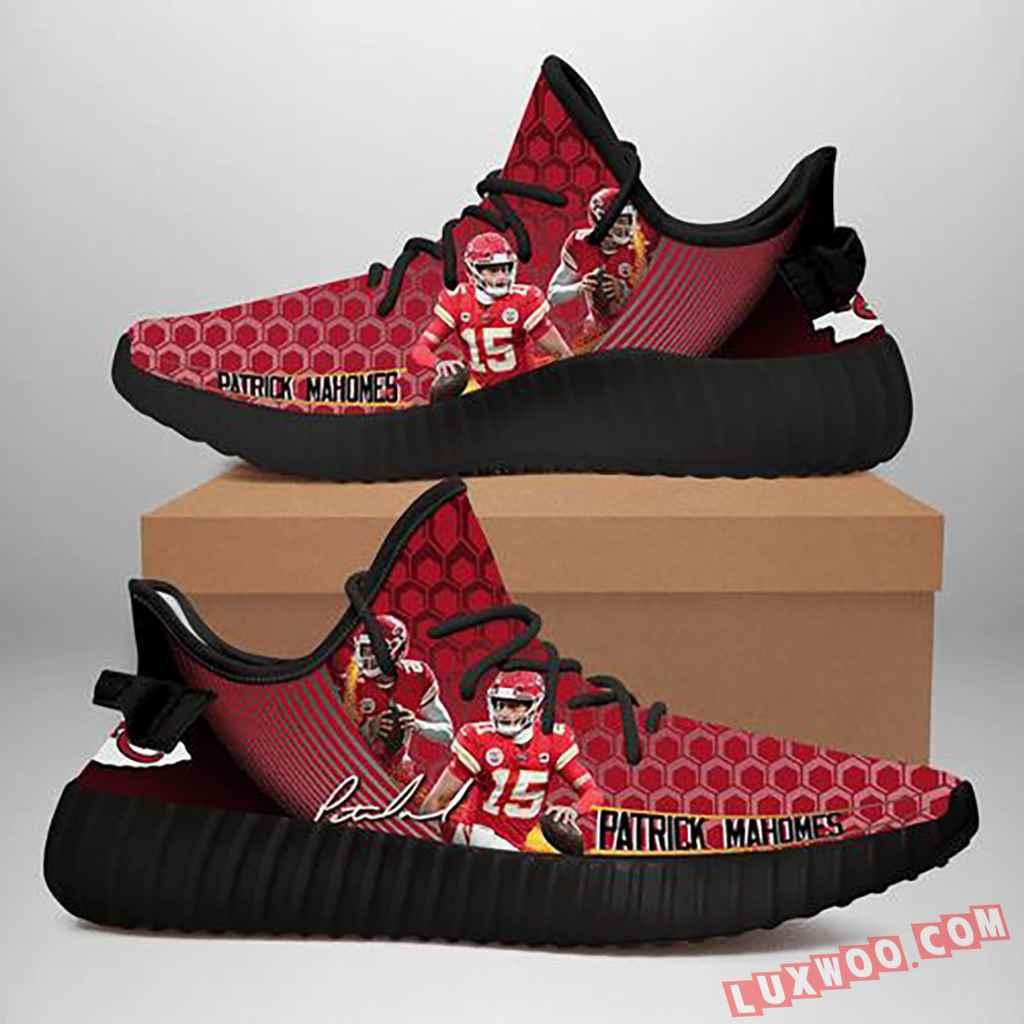 Patrick Mahomes Kansas City Chiefs Nfl Yeezy Sneaker