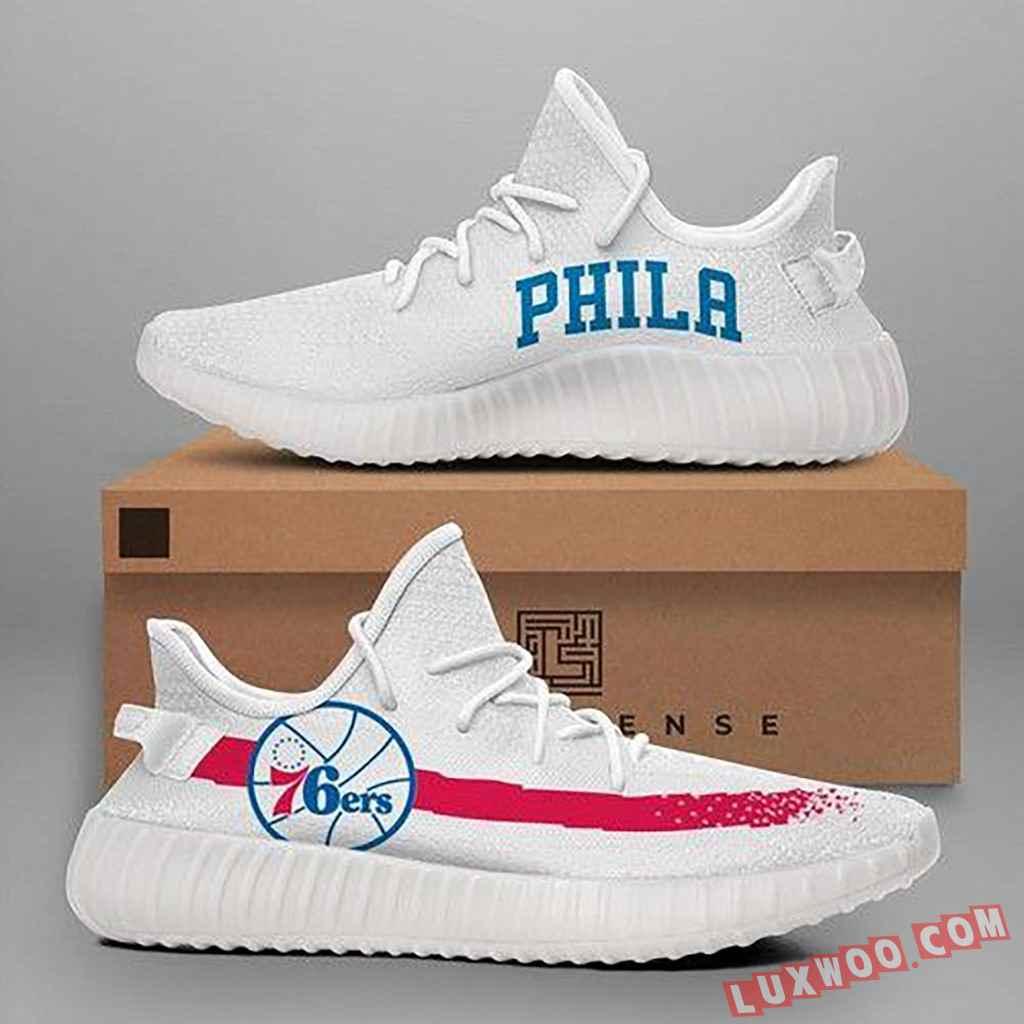 Philadelphia 76ers Nba Teams Yeezy Boost 350 V2